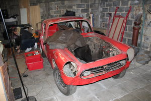 1969 Honda S800 for spares For Sale
