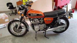 1975 HONDA CB550 FOUR IMPORTED from USA. UK Registered