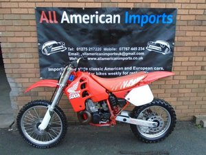 HONDA CR500 R WATER COOLED MOTO X EVO SCRAMBLER (1989) SOLD