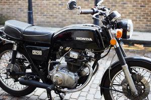 1974 Honda CB200T Cafe Racer