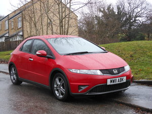 2011 Honda Civic 1.4 i V-Tec SE Si 5Dr 6SPD 1 Former Keeper SOLD