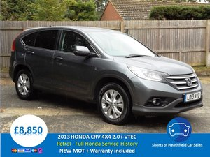 Honda CR-V 2.0 i-VTEC (155ps) SE PETROL - 5 DR 4X4 - 2013 For Sale