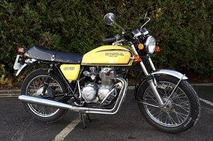 1976 Honda CB400 Four In Yellow