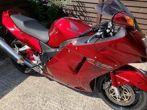 1999 Honda Blackbird CBR1100XX Super Blackbird - low mileage,  SOLD