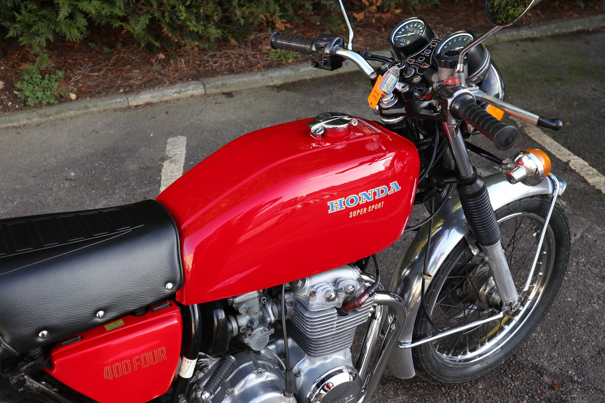 1977 Honda CB400 Four For Sale (picture 4 of 6)