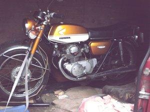 1971 Honda cb 175 k4 only 16k uk bike project