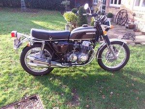 Honda cb750 k2 urestored and original