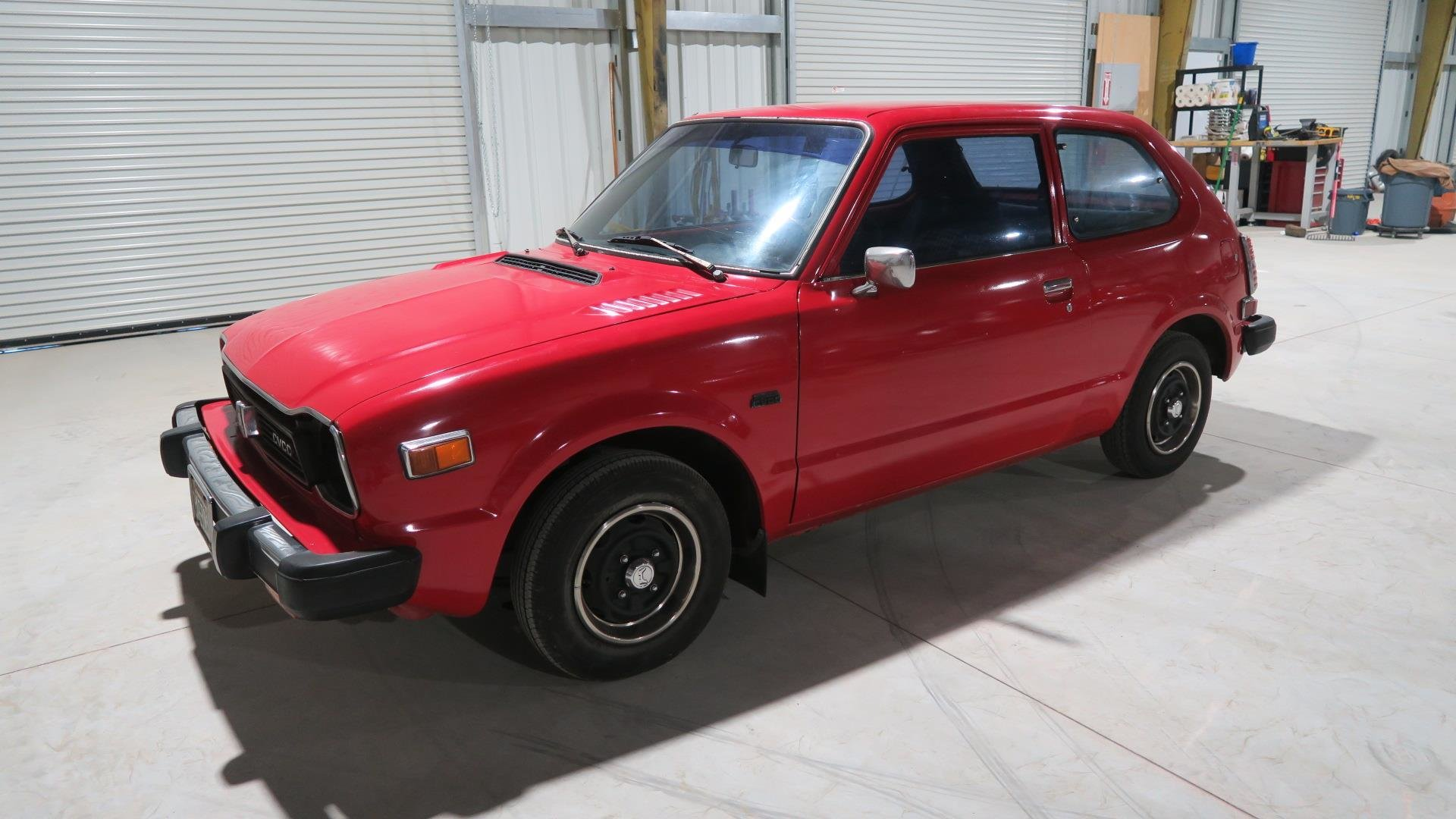 1978 Honda CVCC Dry Cali Clean Car Red(~)Black Manual  $6.9k For Sale (picture 1 of 6)