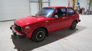 1978 Honda CVCC Dry Cali Clean Car Red(~)Black Manual  $6.9k For Sale
