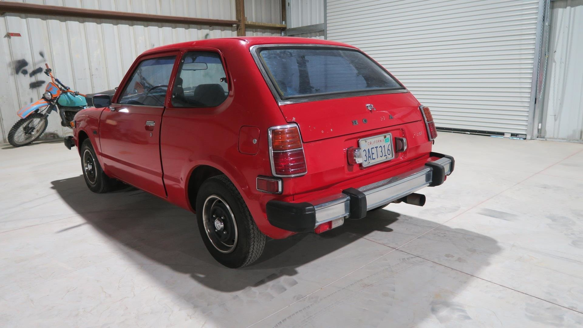 1978 Honda CVCC Dry Cali Clean Car Red(~)Black Manual  $6.9k For Sale (picture 3 of 6)