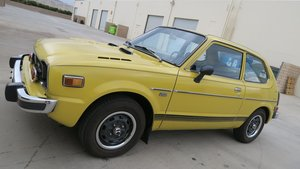 1975 Honda Civic CVCC very Rare 2 Auto Trans $8k spent $8.9  For Sale