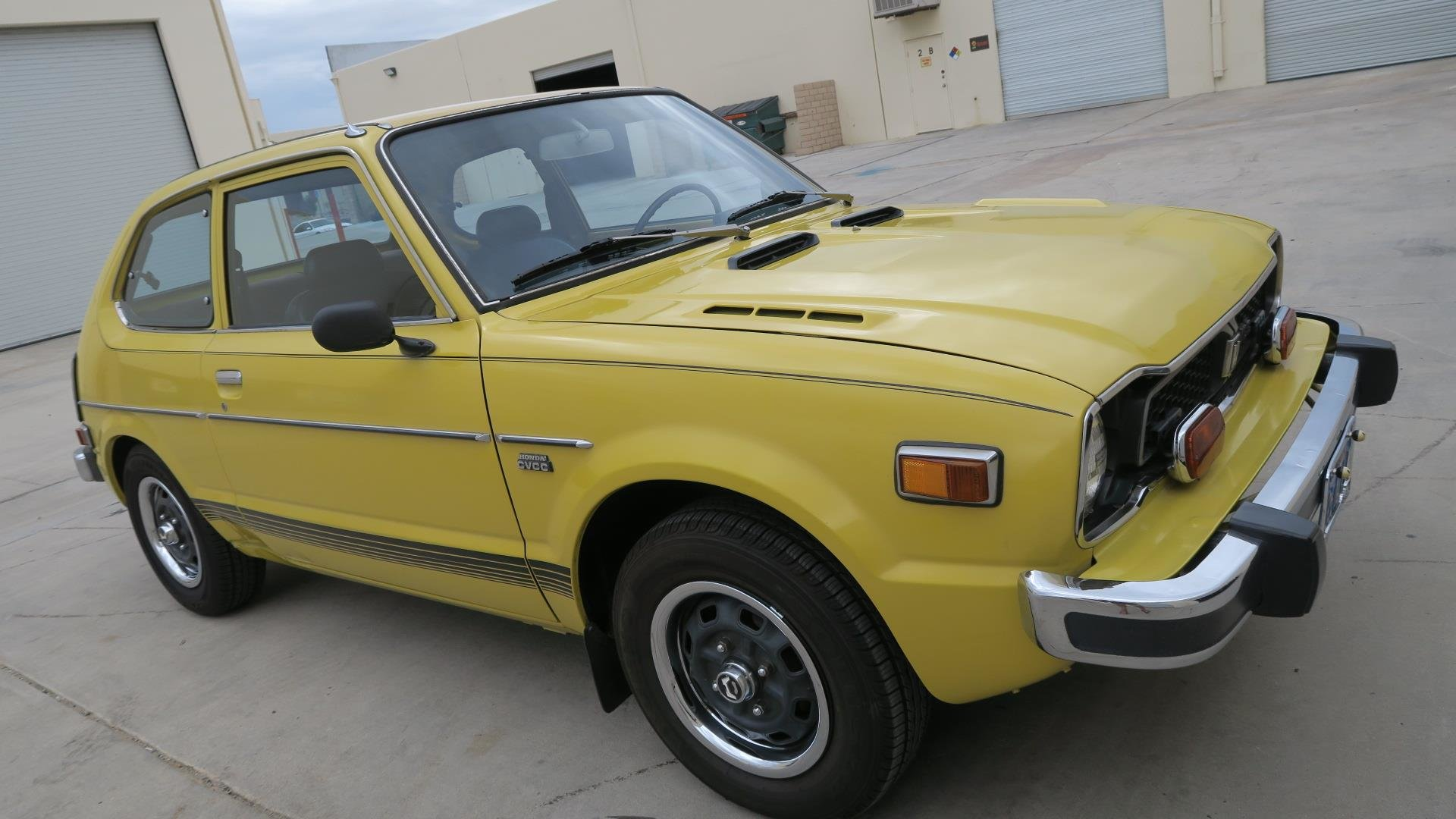 1975 Honda Civic CVCC very Rare 2 Auto Trans $8k spent $8.9  For Sale (picture 2 of 6)