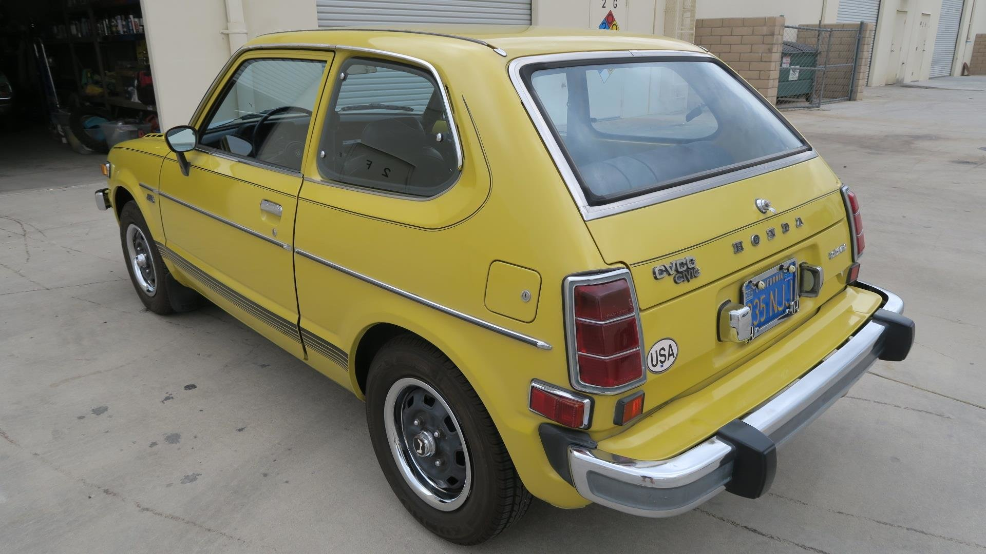 1975 Honda Civic CVCC very Rare 2 Auto Trans $8k spent $8.9  For Sale (picture 3 of 6)