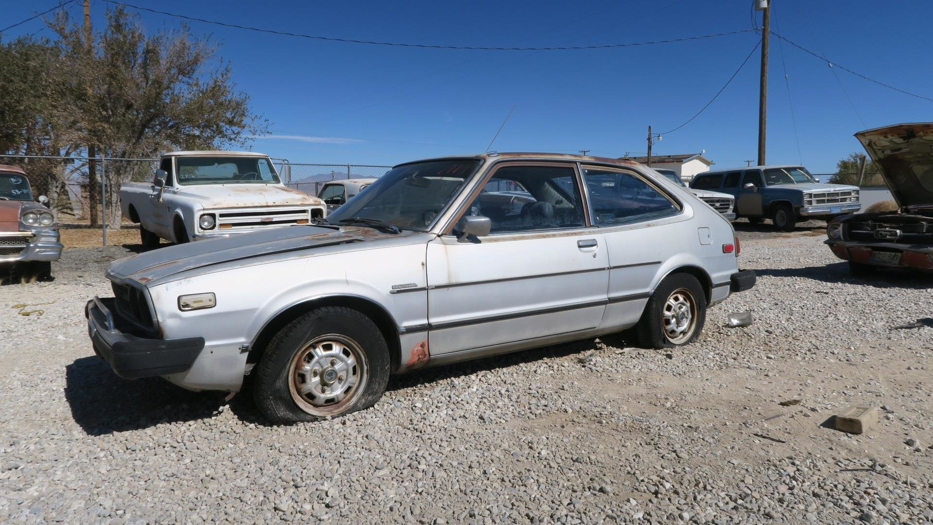 1977 Honda CVCC 5 Speed Project Silver(~)Black  $2.9k For Sale (picture 1 of 6)