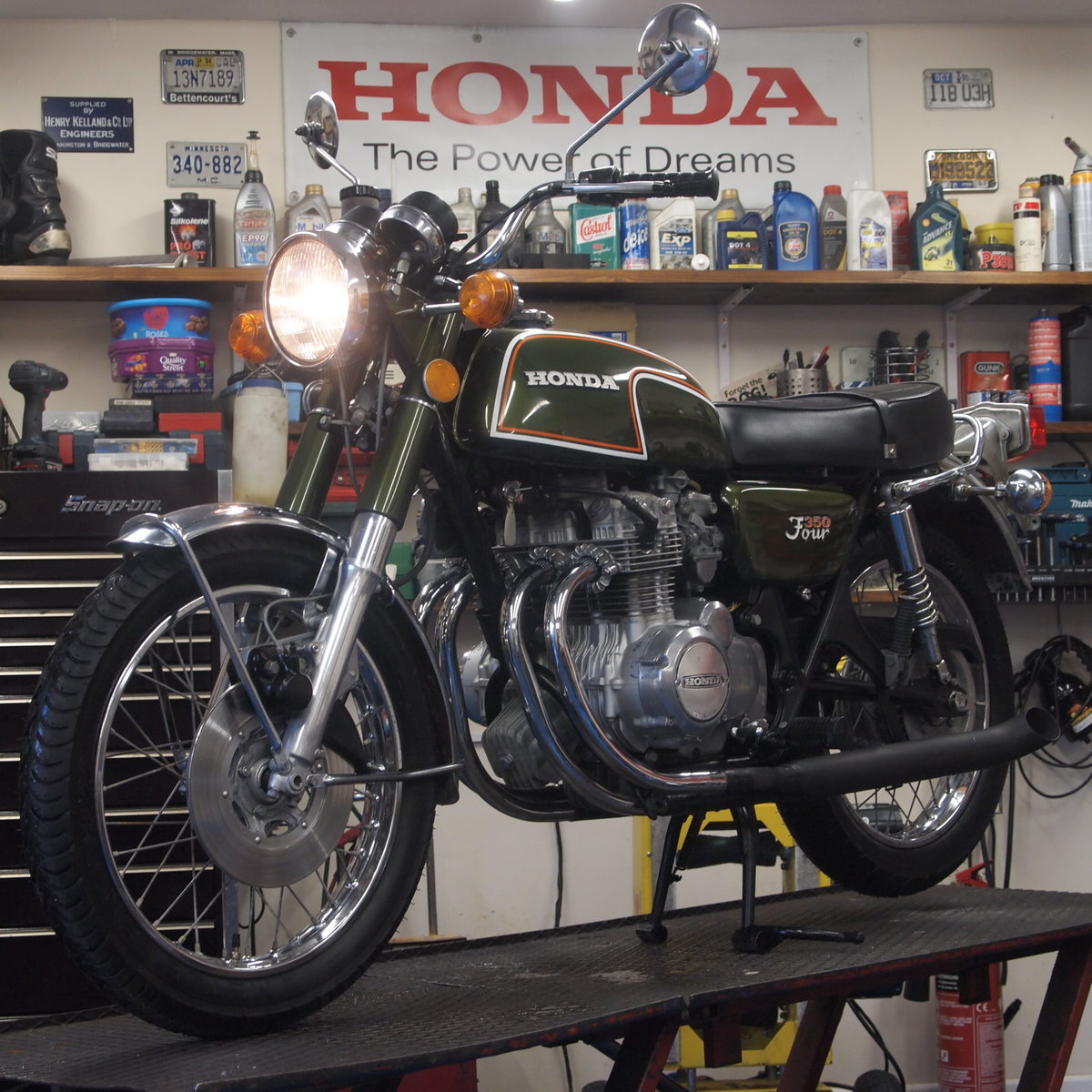 1972 Honda CB350 Four Classic, SOLD SOLD (picture 2 of 6)