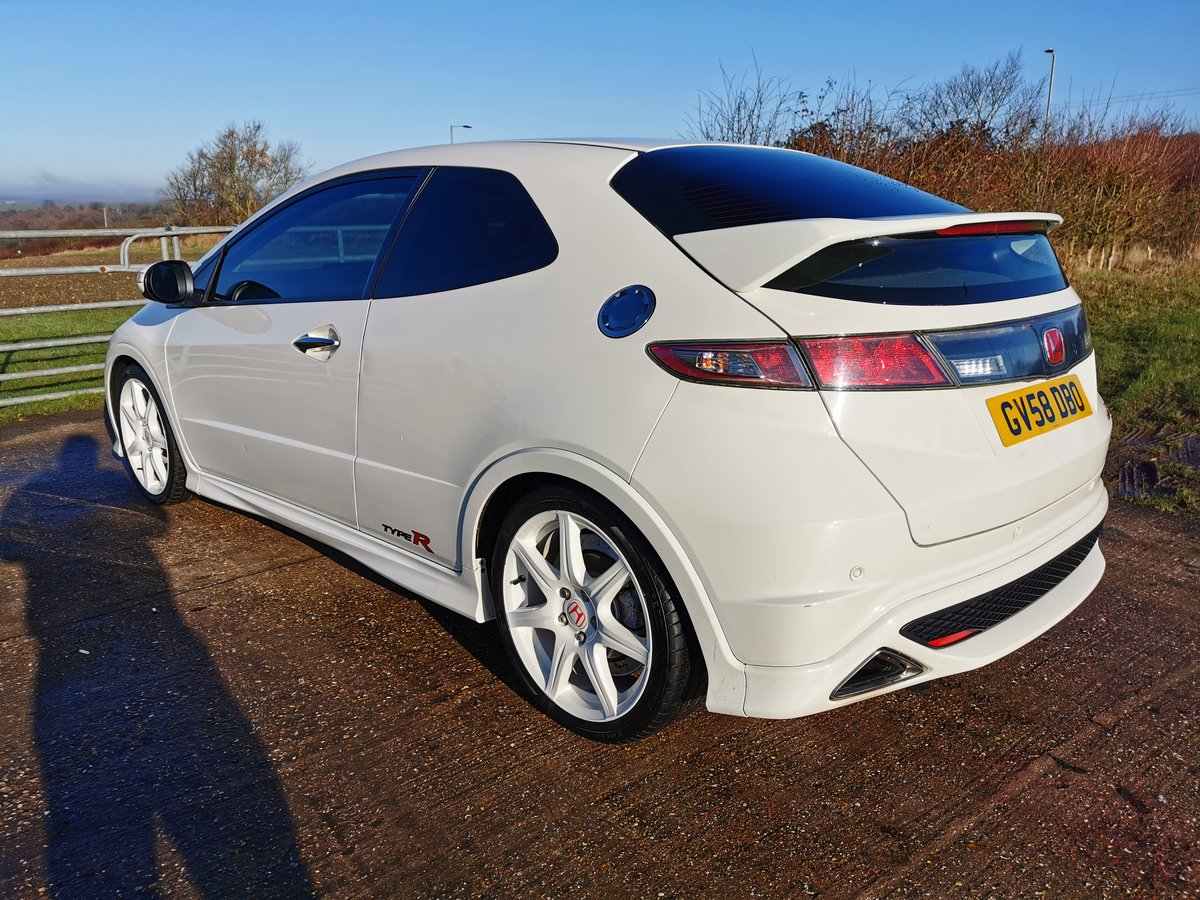 2008 Honda Civic Type R Championship White For Sale (picture 4 of 5)