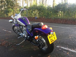 Honda VT600 Shadow 7713 miles