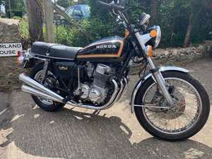 Honda CB750 K7 1978 super-low mileage and rides great SOLD