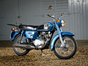 1976 Honda CD175 with lots spent lovely little bike