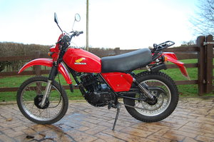 HONDA XL250cc 1980 CLASSIC MOTORCYCLE For Sale