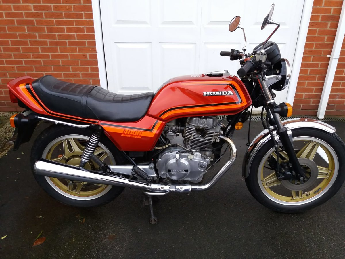 1982 Honda CB 400 N Superdream For Sale | Car And Classic