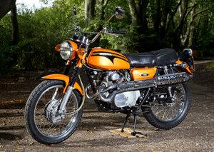 1972 Honda CL175 -super original Scrambler SOLD