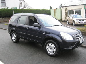 2006 56-reg Honda CR-V 2.0 i-VTEC SE Manual