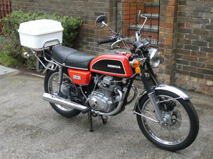 1976 Honda CB200  8,796 genuine miles & unrestored