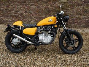 1984 Honda CX 500 Caferacer 3 owners from new, original Dutch del For Sale