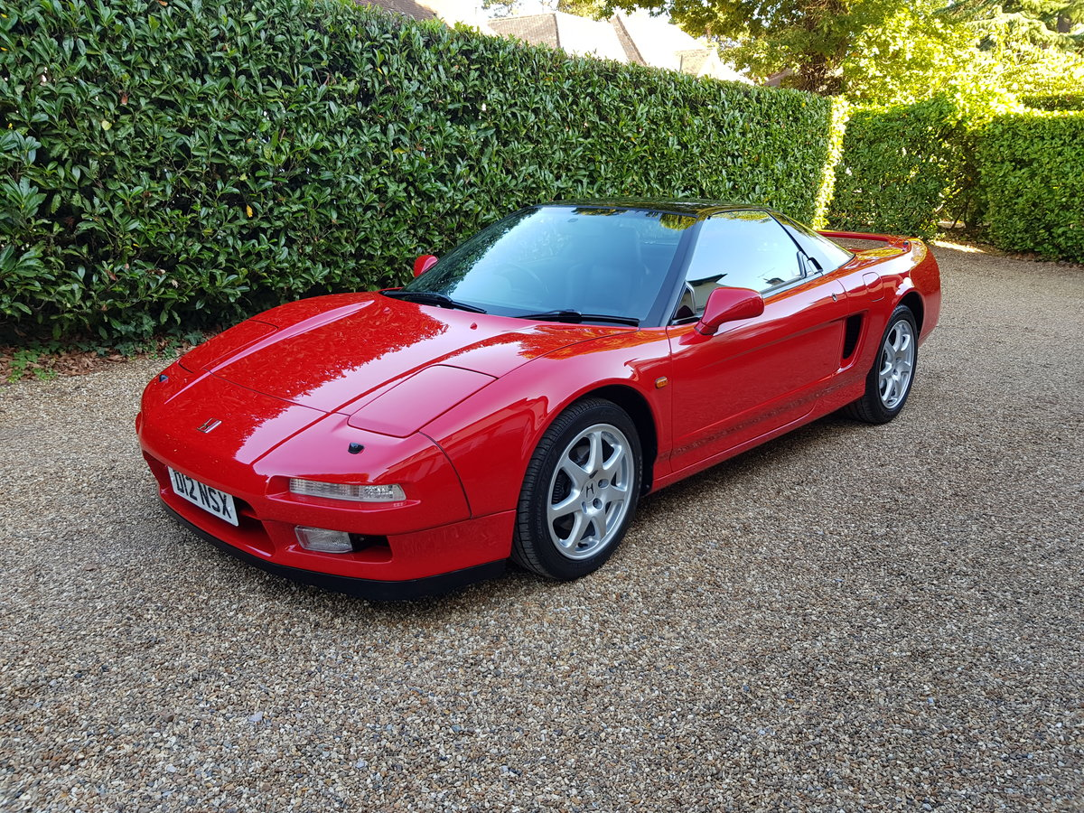 1991 Honda NSX 5 speed Manual new clutch and exhaust For Sale (picture 1 of 6)