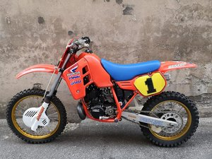 1986 HONDA CR 500 R READY TO RACE  SOLD