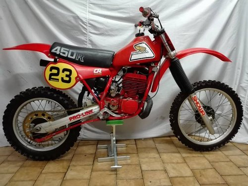 1981 HONDA CR 450 ELSINORE For Sale (picture 1 of 3)