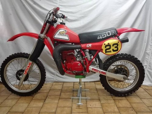 1981 HONDA CR 450 ELSINORE For Sale (picture 2 of 3)