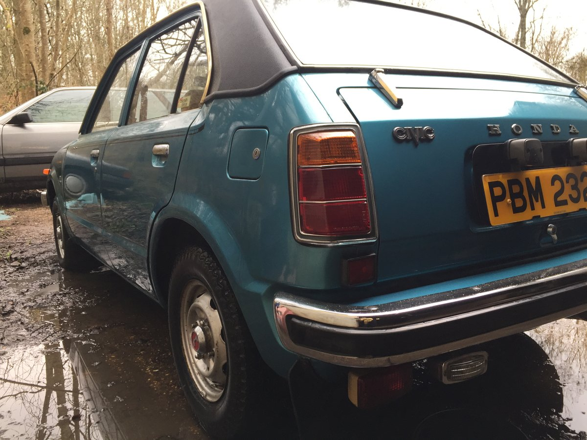 1976 Honda civic 1500 mk1 very rare i owner 19100 m For Sale (picture 1 of 6)