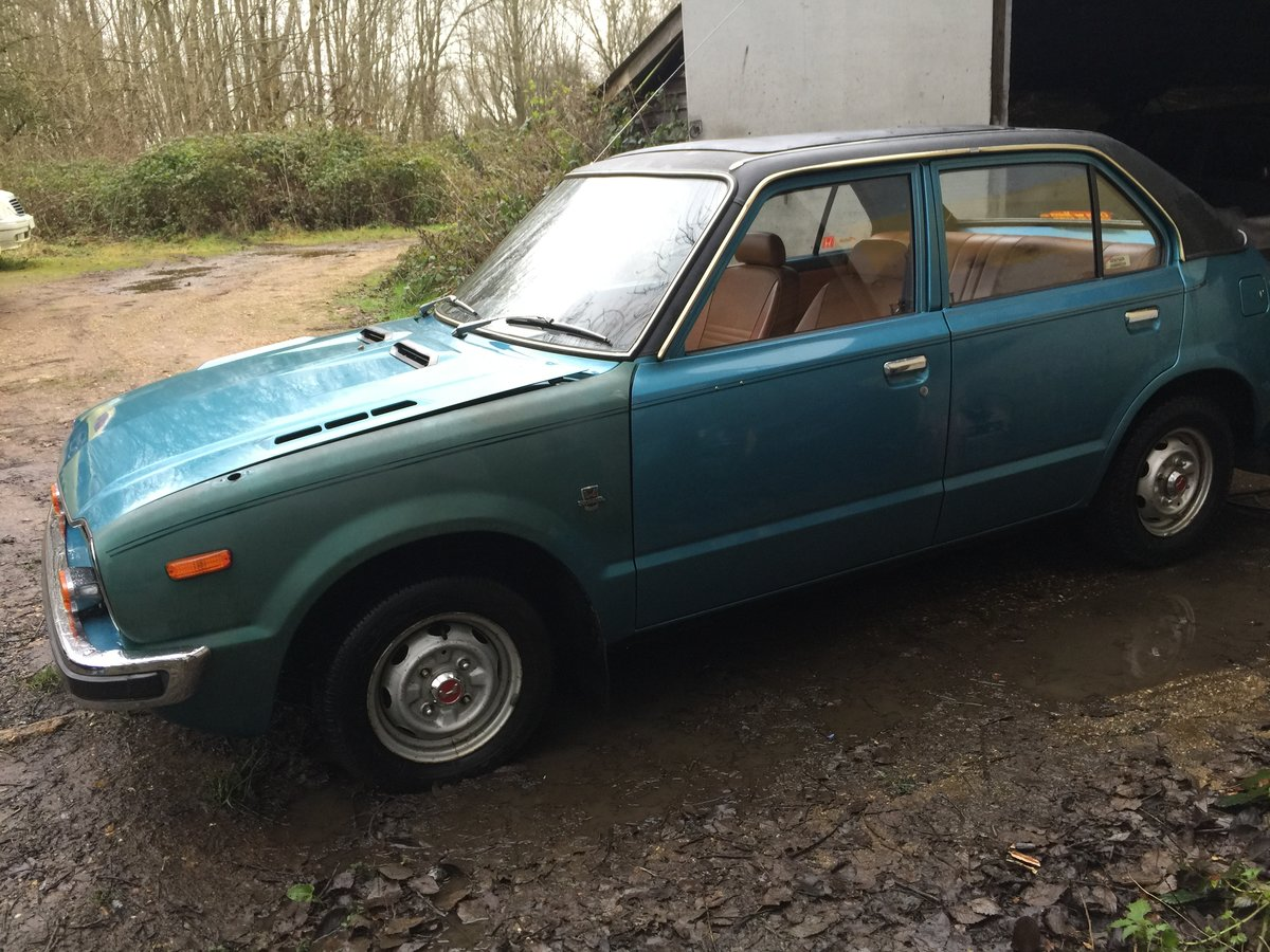 1976 Honda civic 1500 mk1 very rare i owner 19100 m For Sale (picture 5 of 6)