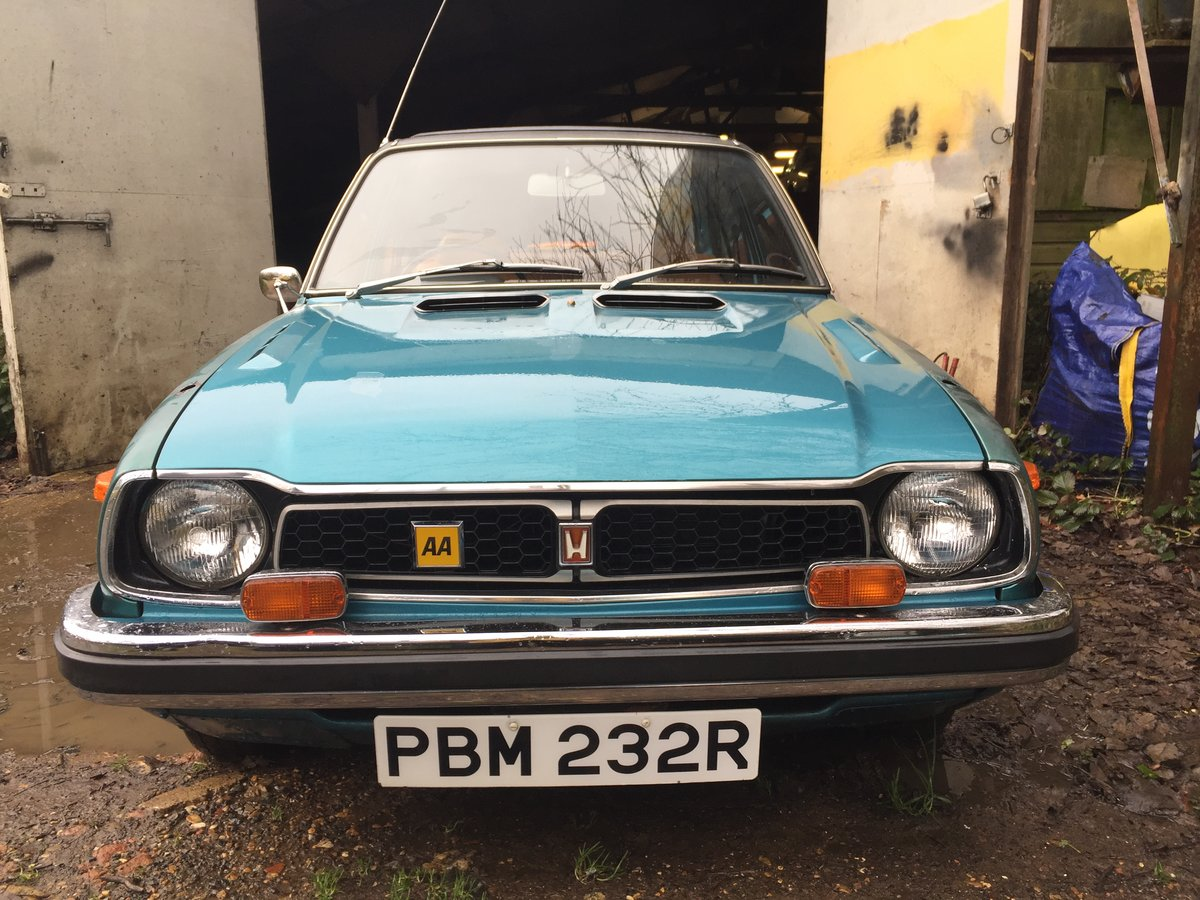 1976 Honda civic 1500 mk1 very rare i owner 19100 m For Sale (picture 4 of 6)