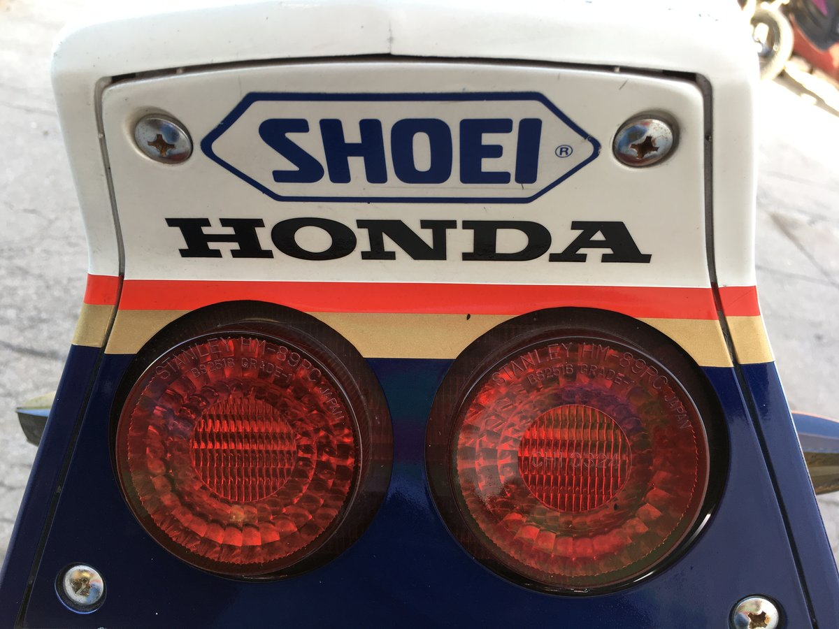 1987 Honda VF1000R  Rothmans Edition For Sale (picture 3 of 6)