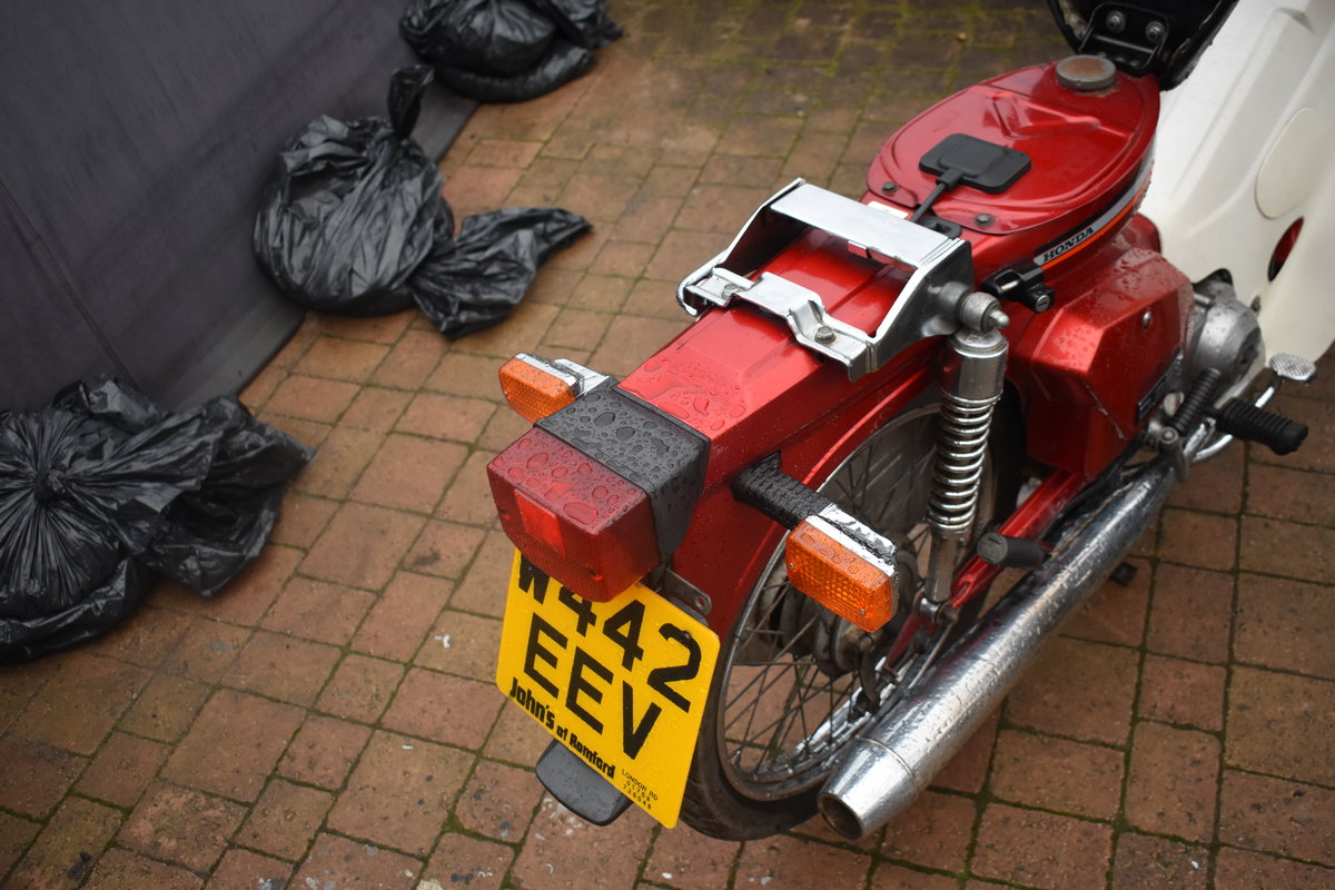 Lot 27 - A 2000 Honda C90M - 02/2/2020 SOLD by Auction (picture 4 of 6)