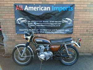 HONDA CB500 FOUR K1 MOTORBIKE(1972) MET BRONZE! For Sale