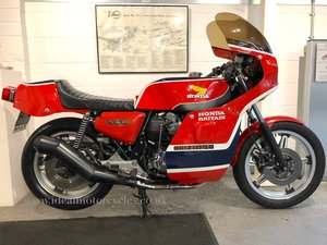 1981 Honda CB750 Phil Read Replica