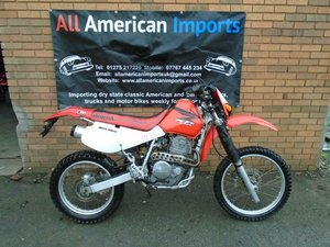 HONDA XR650L ROAD LEGAL ENDURO (2008) WHITE! US IMPORT! 31K!