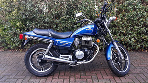 1986 Classic Honda 450cc - CB450SC reluctantly