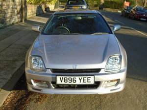 1999 HONDA PRELUDE 2.2 VTI 4WS AUTO SILVER LOW MILEAGE For Sale