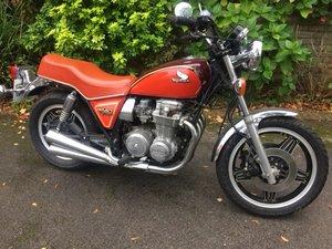 Lot 24 - A 1981 Honda CB650/4 CA - 02/2/2020