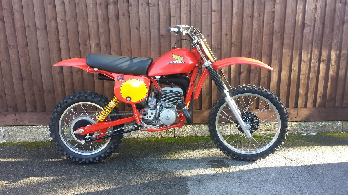 1979 Honda CR250R Elsinore-Red Rocket For Sale (picture 1 of 1)