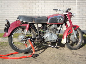 1977 Honda CD175 Project HPI Clear 4 owners