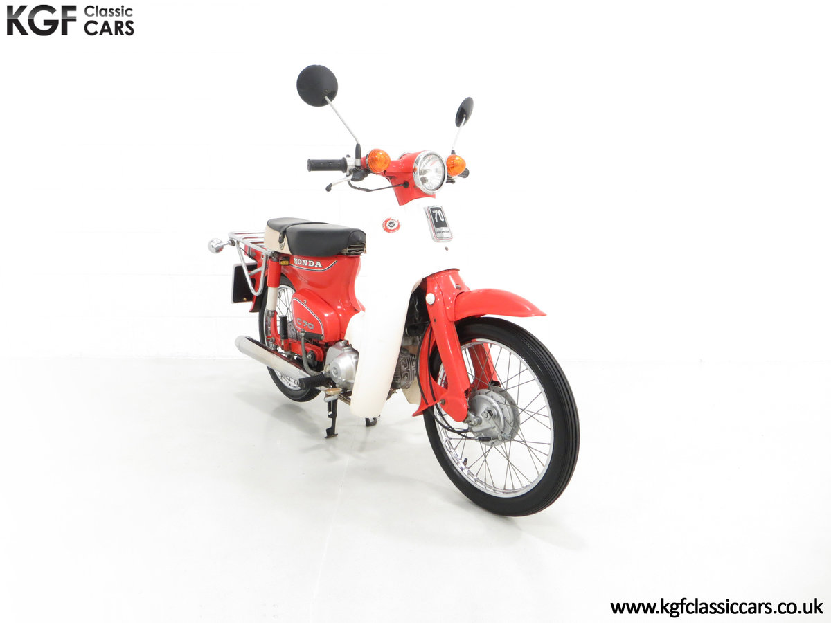 1984 An Original Retro UK Honda C70-C with 3,600 Miles SOLD (picture 1 of 6)