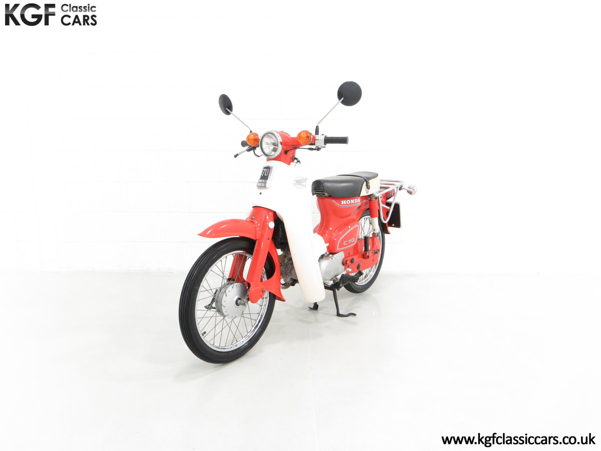 1984 An Original Retro UK Honda C70-C with 3,600 Miles SOLD (picture 2 of 6)