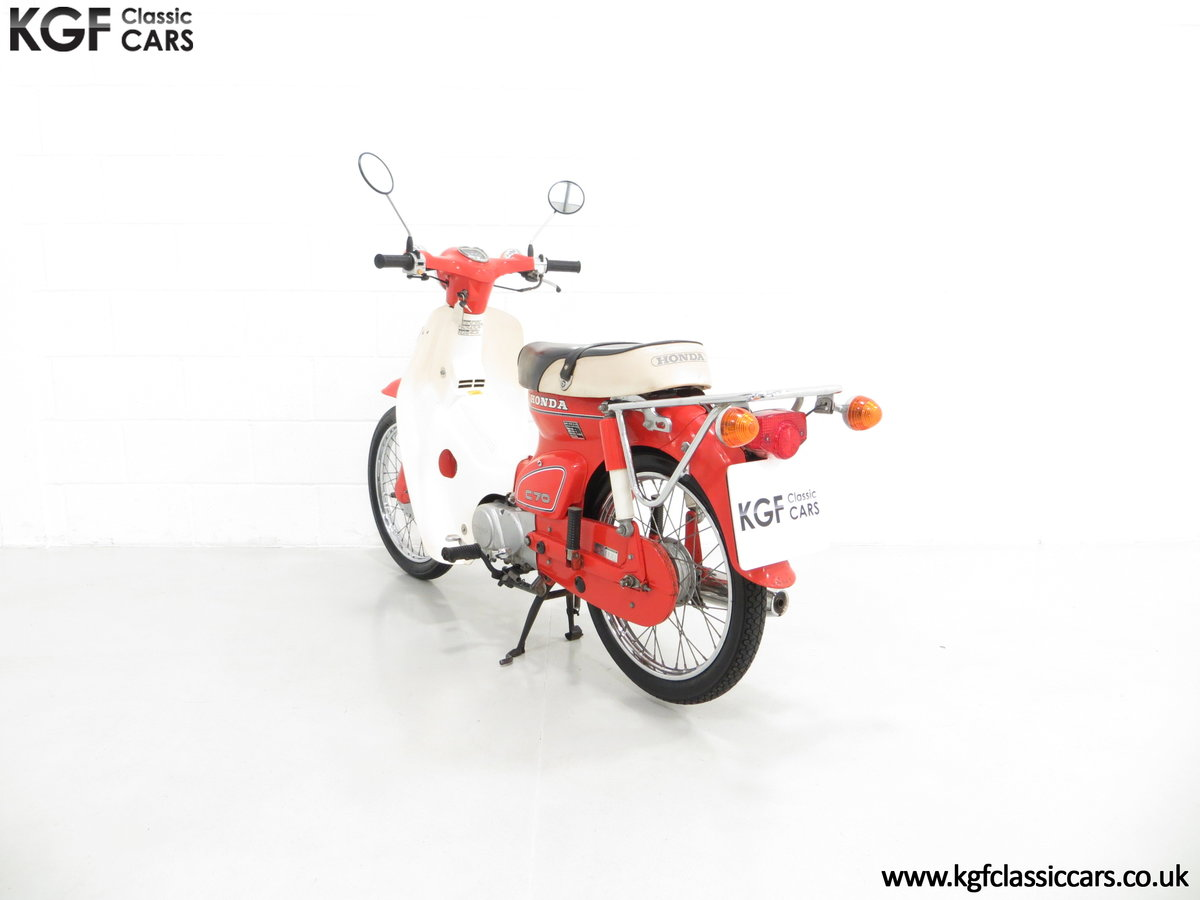 1984 An Original Retro UK Honda C70-C with 3,600 Miles SOLD (picture 4 of 6)