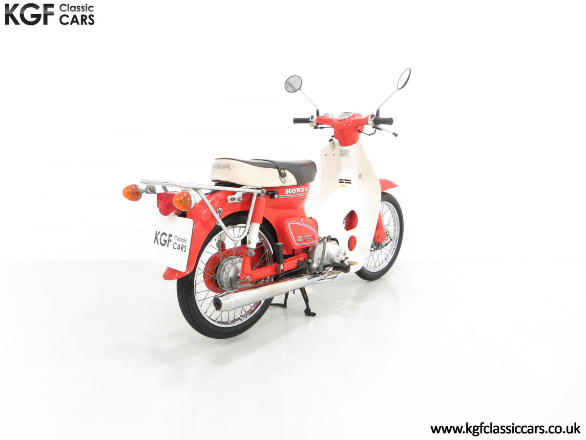 1984 An Original Retro UK Honda C70-C with 3,600 Miles SOLD (picture 5 of 6)